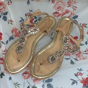 Antonio Melani Jeweled Sandals